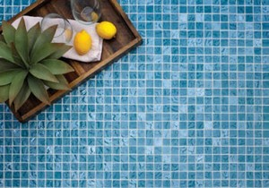 Island Stone Introduces Lava Glass Mosaic Tiles- Durable Fused Glass