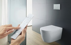 Duravit USA Ushers in the New Shower – Toilet Generation with the Debut of SensoWash® Starck f Designed by Philippe Starck