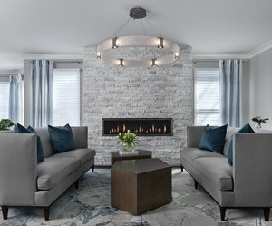 """Ellwood Interiors Uses Hammerton Studio Fixtures to Create """"Livable Luxury"""" for Clients"""
