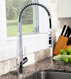 Speakman Introduces Sensor Kitchen Faucets
