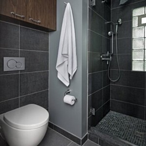 Bloomfield Hills, MI Home – How the Geberit In-Wall System Expanded Space and Possibilities in a Tiny Bathroom