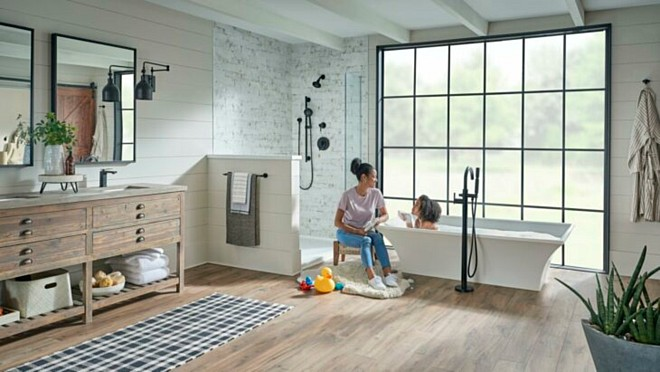 Gerber® Expands Design Horizons and Bath Experience with the introduction of Floor Mount Tub Fillers