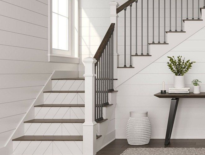 Interior Stairways Get New Look with L. J. Smith Reversible Stair Risers